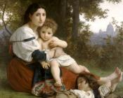 William-Adolphe Bouguereau : Rest