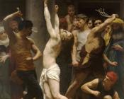 William-Adolphe Bouguereau : The Flagellation of Our Lord Jesus Christ