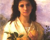 Girl Holding Lemons - William-Adolphe Bouguereau